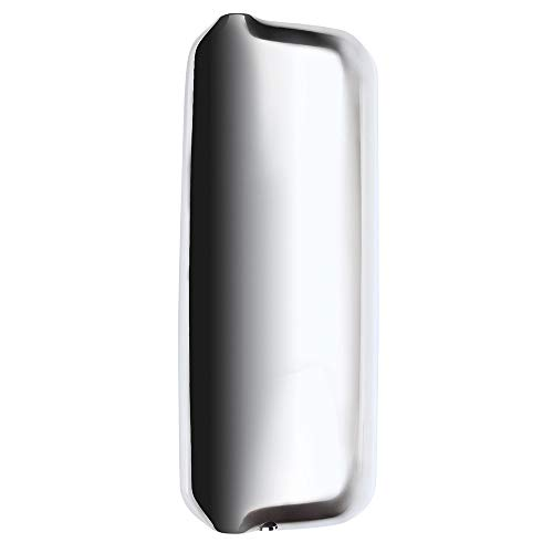 cciyu Rearview Mirror Cover with Chrome Housing Passenger Right Side Mirror Cover Fits for 2005-2017 Freightliner Century Columbia
