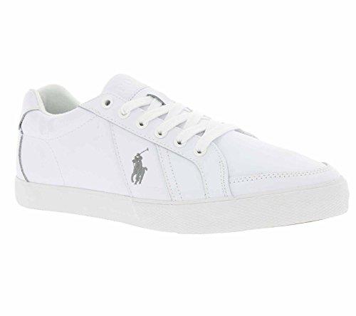 Polo Ralph Lauren Hugh Hombre Zapatillas Blanco Blanco