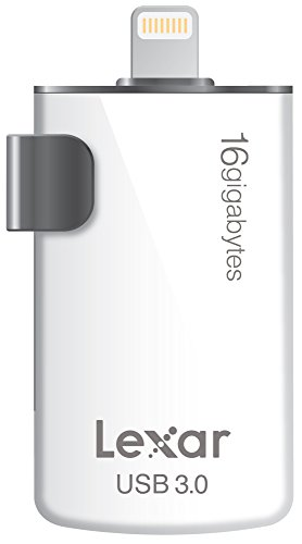 Lexar JumpDrive M20i 16GB Mobile Lightning/USB 3.0 Flash Drive - LJDM20I-16GBBNL