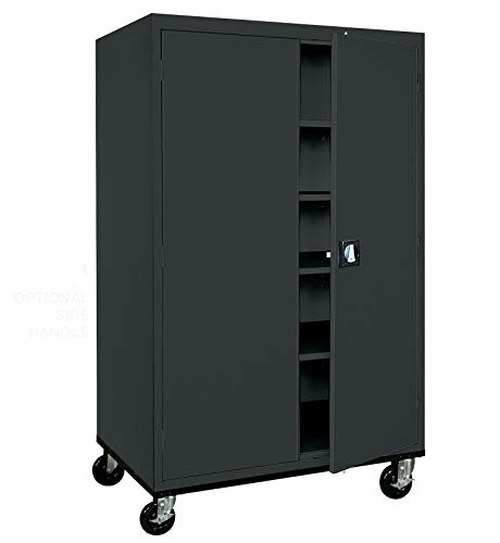 Sandusky Lee TA4R462472-09 Transport Series Mobile Storage Cabinet, ()