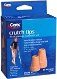 Carex Crutch Tips Standard A715-00 2 Each (Pack of 5)