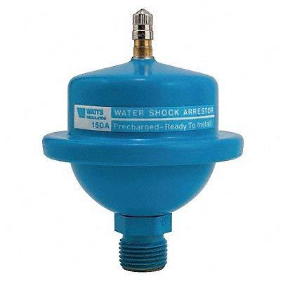 Water Hammer Arrestor, 1/2 In NPT, 150 psi