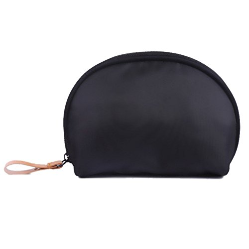 Portable Shell Makeup Bag/Brush Cosmetic Pouch/Small Travel Waterproof Cases Electronics Accessories Organizer/Cash Handbag Clutch Purse Tolietry Pouch for Women Hold Lipstick