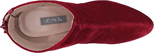 Sarah Boot Ankle Red Parker by 75 Women's Minnie SJP Velvet Jessica 4nxqAFCWw5