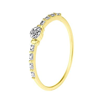 d9dd512cf And You - & You - Bague Solitaire - Or Jaune 9 cts - Premium ...