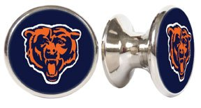 Chicago Bears NFL Stainless Steel Cabinet Knob / Drawer Pull