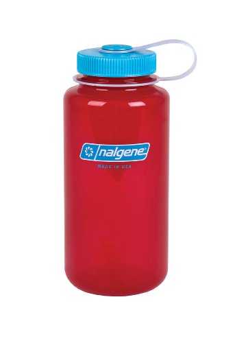 4f835a6ca Nalgene Translucent Wide Mouth Bottle With Blue Lid (Trans - Import It ...