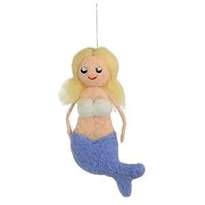 31maC2ACaGL._SS300_ 100+ Mermaid Christmas Ornaments