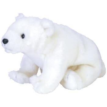 3b7f775ab Amazon.com: Ty Beanie Babies Aurora - Polar Bear: Toys & Games