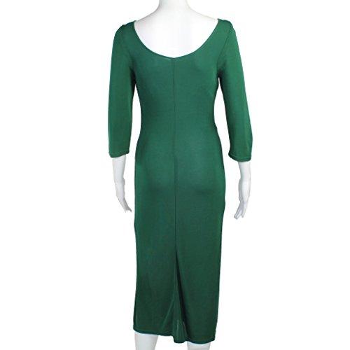 Culture Par David Picorer Femmes De Vert Robe Naisseur / Marine Petite