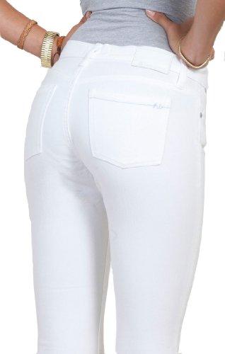 Henry & Belle - Vaqueros skinny fit para mujer Blanco
