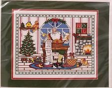 "Bacillary Christmas 15"" x 12"" Counted Cross Stitch Picture:"