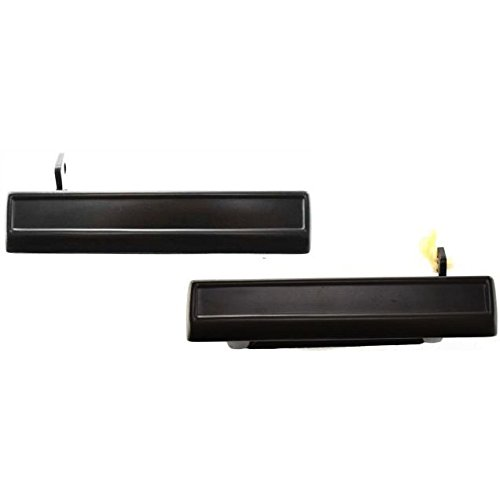 Diften 129-C2240-X01 - New Door Handles Set of 2 Left & Right Side Front Outer Exterior Outside Pair