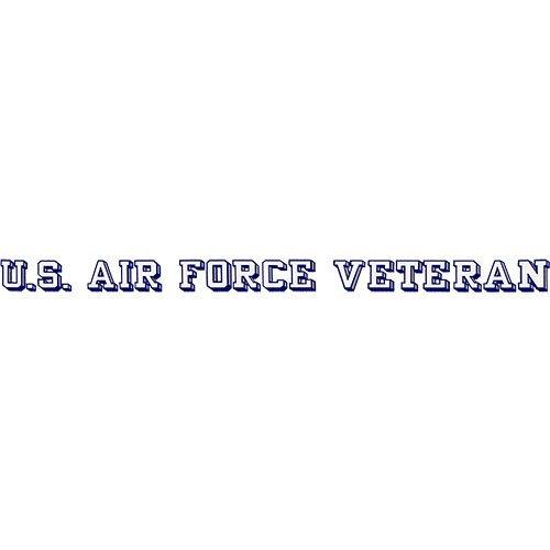 Window Veteran (U.S. Air Force Veteran Clear Window Strip)