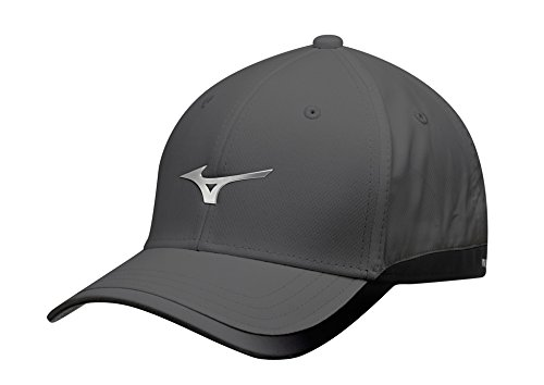 Mizuno 2017 Mens Performance Hat Stretch-Fit Golf Cap (Stretch Fit Golf Hat)