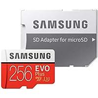 Samsung 256GB EVO Plus Class 10 UHS-I microSDXC U3 with...