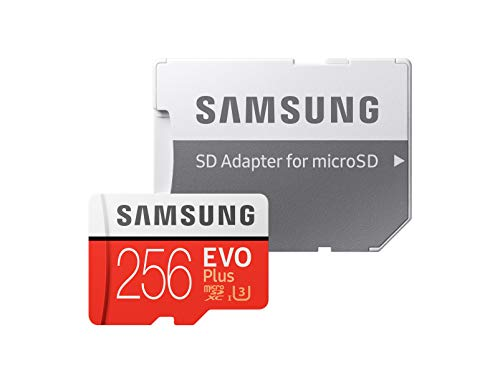 (Samsung 256GB EVO Plus Class 10 UHS-I microSDXC U3 with Adapter (MB-MC256GA))