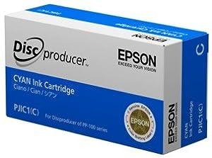Epson Cyan Ink Cartridge for the PP-100 DiscProducer Burner & Inkjet Printer