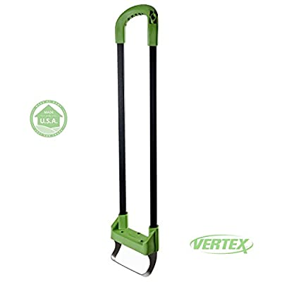 Easy Step™ Garden Weeder & Sod Cutter By Vertex® With Stainless Weed & Turf Cutting Head - Made in USA - Model GB593