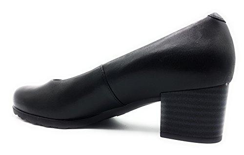 PITILLOS Women's Court Shoes Black Y7LRgV