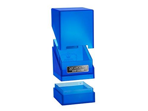 Ultimate Guard 100 Card Monolith Deck Case, Sapphire