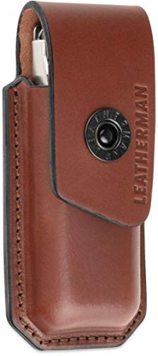 Leatherman Ainsworth Premium Brown Leather Sheath, Medium - 934935