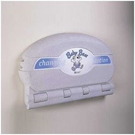 Oval Baby Changing Station Color Grey