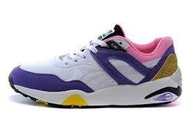 Puma Trinomic R698 - prism violet-fluo pink, Größe:5