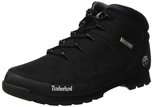 Hiker Hombre Negro Nubuck Timberland Chukka Para Sprint Euro black Botas qwf4v