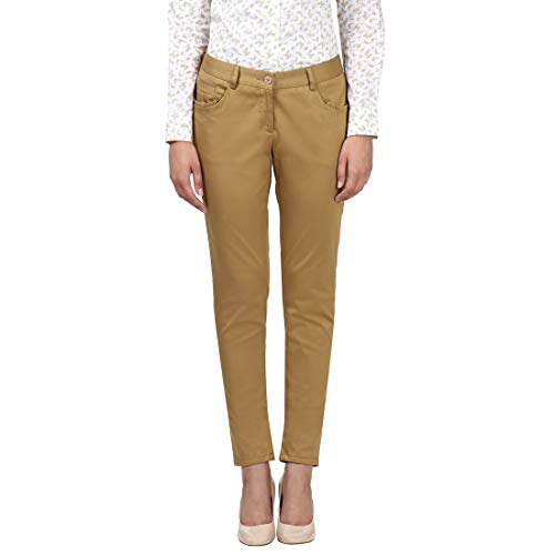 Park Avenue Women's Tapered Fit Pants