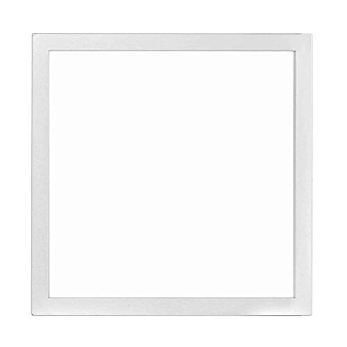 Hykolity 1x1 FT 15W 1200lm 4000K Ultra Slim Flushmount Built-in Driver LED Flat Panel troffer Light, Residential Surface Mount/Commercial Drop Ceiling Dimmable Ceiling Fixture ETL Listed