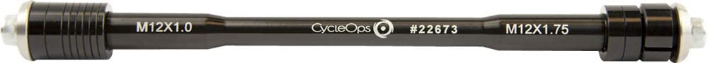 One Size Silver 148 x 12 Boost CycleOps Adults Push-Axle Set