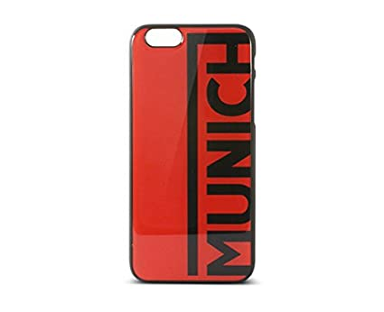 Munich BXMUIP6C02 - Carcasa color line para Apple iPhone 6, rojo