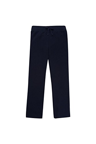 French Toast Toddler Girls' Fleece Sweatpant, Navy, 4T - School Kids Sweatpants