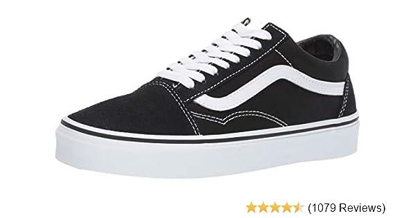 b90948a89ea Vans Unisex Old Skool Classic Skate Shoes