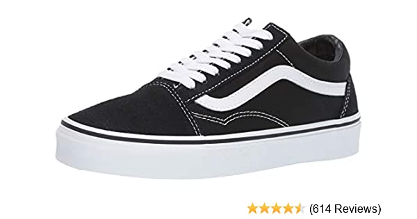 21a487bc853 Vans Unisex Old Skool Classic Skate Shoes