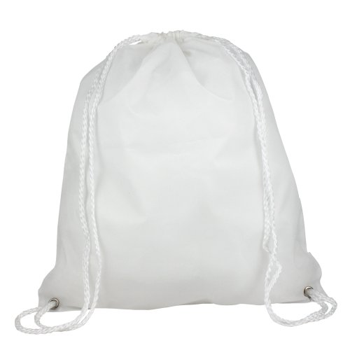 eBuyGB Nylon Drawstring / Backpack - ideal for events and activities such as, school, gym, sporting, swimming and book bag's