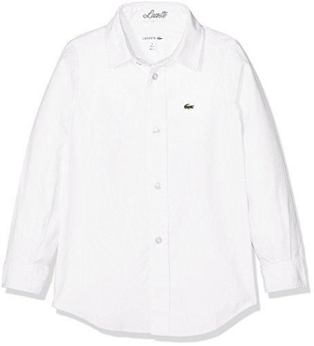 bianca bianca Cj2907 camicia ragazzo Lacoste da q71wTI