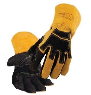 Revco BSX BS88 Premium Pigskin Stick Welding Glove, Long Cuff, Large