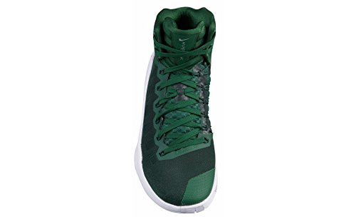 2016 Mujeres Nike Hyperdunk Gorge Verde / Plata Metálica