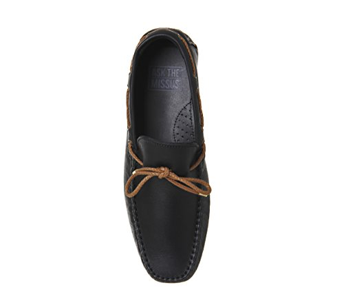 Ask The Missus Bounty Driver Black Leather Tan dR4mbjNZ
