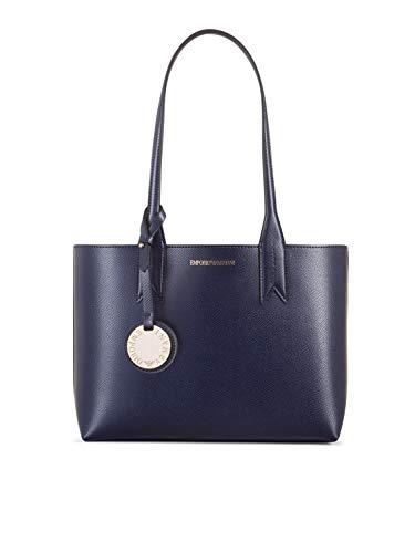 Talla Azul Bolsos Emporio Mujer Minidollaro Mano Armani Ùnica De HPvR6qP