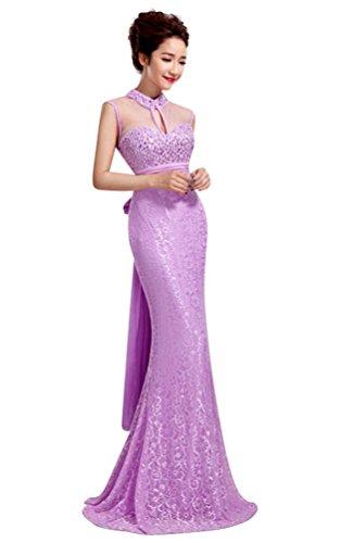 Gr Emily Hellviolett 34 Damen Violett Kleid Beauty tqngRg