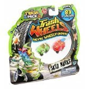 Trash Pack Wheels Skid Markz Blister (2-Pack) by Trash Pack
