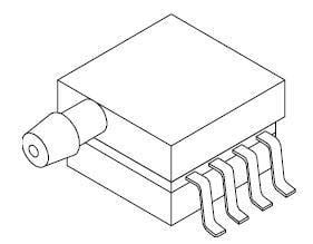 Board Mount Pressure Sensors SOP 8PIN W/TOP Port, Pack of 5 (MPXV5100GP) by NXP / Freescale (Image #1)