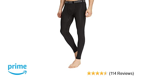 5c5cdf4288 Amazon.com : saraca core Men Youth Compression Pants Baselayer Cool Dry  Athletic Tights Running Leggings : Sports & Outdoors