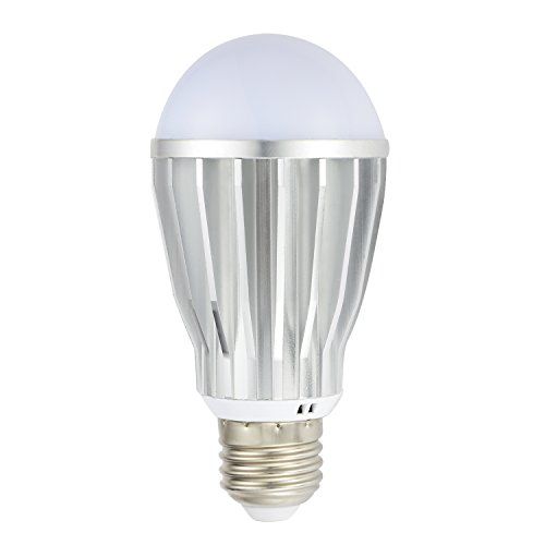 9W Warm White Dusk to Dawn LED Sensor Bulb - Automatic Turn on and off - Photocell Light Sensor Bulb for Porch Garage Outdoor Security Post Lighting by InLED