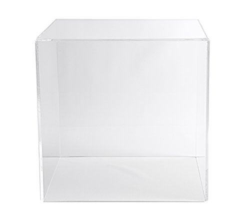 Choice Acrylic Displays Acrylic Box Case 5 Sided Display Box Museum Box Case Square Box Acrylic Cube 18 H x 18 W x 18 D