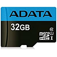 ADATA Premier 32GB microSDHC/SDXC UHS-I Class 10 Memory Card Read up to 85 MB/s (AUSDH32GUICL10 85-R)