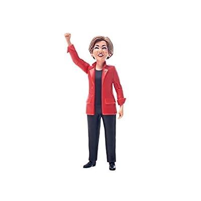 FCTRY Polictical Action Figures - Trump, Hilary, Bernie (Elizabeth Warren): Toys & Games